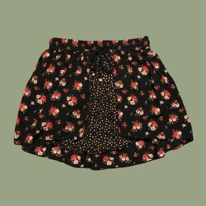 Forever 21 Layered Floral Skirt